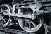 En rostig hjul — Stockfoto