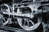 A rusty wheels — Stock Photo