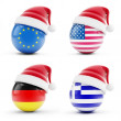 Royalty-Free Stock Photo: Christmas in Greece, Germany, USA, European