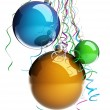 Christmas glass ball — Stock Photo #15917329