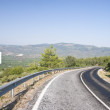Mountain road with dangerous curves — Stock Photo #12859655