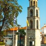 gamla kyrkan vid berg stad litichoro — Stockfoto #15362447