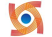 Modèle de logo abstrait — Vecteur