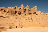 Tempel von karnak, ägypten - außenelemente — Stockfoto