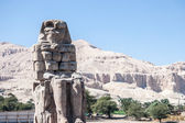 Ruines antiques dans le désert, égypte — Photo