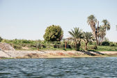 Waterscape at Nile near Luxor in Egypt — Stock Photo