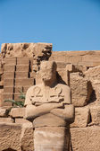 Tempel van karnak, egypte - exterieur elementen — Stockfoto