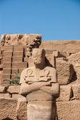 Templo de karnak, egito - elementos exteriores — Foto Stock