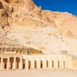 the temple of hatshepsut near luxor in egypt — Stock Photo