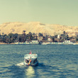 Waterscape at Nile near Luxor in Egypt — Stock Photo #25391093
