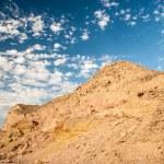 Sand dunes and rocks, Sahara Desert — Stock Photo #26599151