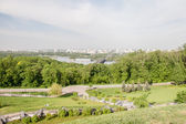 Kiev cityscape and Dnieper river, Ukraine — Stock fotografie