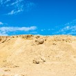 Sand dunes and rocks, Sahara Desert — Stock Photo #28607071