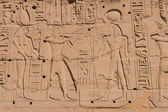 Temple of Karnak, Egypt - Exterior elements — Stock Photo