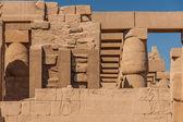 Tempel av karnak, egypten - yttre element — Stockfoto