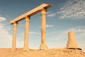 Ancient Ruins at the desert, Egypt — Stock Photo