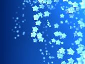 Shiny Stars Particles on smooth background — Foto Stock