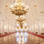 Georgievsky Hall of the Kremlin Palace, Moscow — Stock Photo #42103819