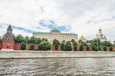 Moscow Kremlin Building in summer time — Foto de Stock