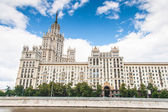 Kotelnicheskaya Embankment Building — Stock Photo
