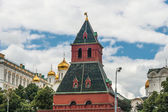 Moscow Kremlin Building in summer time — Foto Stock
