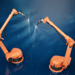 Industrial Robotic Arms — Stock Photo #50573321