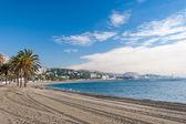 Coastline at Malaga — Stock Photo