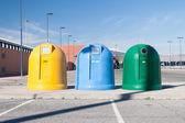 Contenitori dell'immondizia — Foto Stock