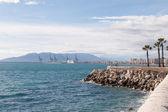 Küste bei malaga — Stockfoto