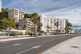 Street view of Malaga — Zdjęcie stockowe