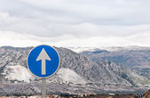 Montain highway — Zdjęcie stockowe