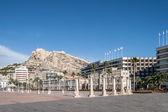 Cityscape of Alicante — Zdjęcie stockowe