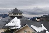 Hiszpańskiego ośrodka narciarskiego sierra nevada — Zdjęcie stockowe