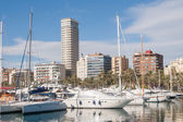 Harbour of Alicante, Spain — Zdjęcie stockowe