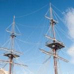 Old ship mast — Stock Photo #51513923