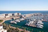 Harbour of Alicante, Spain — Stock Photo