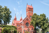 Church of Saints Simon and Helena — Stock Photo