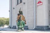 Bronzen standbeeld — Stockfoto