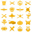 ������, ������: Badges of arms of the Russian Army