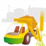 Truck crops — Stock Vector #13190381