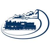 Locomotora-4 — Vector de stock