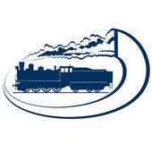 Locomotora-6 — Vector de stock