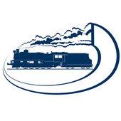 Locomotora-7 — Vector de stock