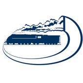 Locomotora-16 — Vector de stock