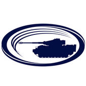 Tanks of World War II-3 — Stock Vector