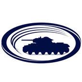 Tanks of World War II-6 — Stock Vector