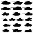 Armored vehicles — Image vectorielle