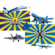 Military and Air Forces of Russia - Imagen vectorial