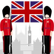 Постер, плакат: British Royal Guard