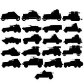 Armored vehicles — Stock Vector